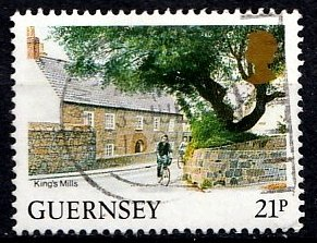 Guernsey 1984 SG. 310b used (10807)