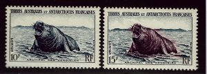 FSAT Beautiful Antarctic SC 6&7 VF MNH SCV$14.50...Limited and Popular!