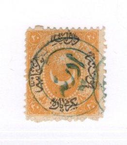 Turkey #9 Used - Stamp - CAT VALUE $6.00