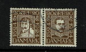 Denmark - 172 & 173 - Pair - Used - 052317