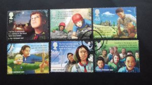 Great Britain 2007 EUROPA Stamps - The 100th Anniversary of Scouting Used
