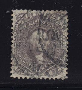 78a VF-XF used neat double cancel with nice color ! see pic !