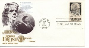 US FDC #1526 Frost, Fleetwood (8030)