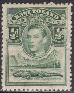Basutoland, Sc 18, MH, 1938, King George VI