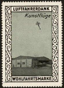 Germany WWI Air Force Kunstfluege Memorial Luftfahrerdank Flight MNH  Ci G102804