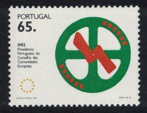 Portugal Portuguese Presidency of European Community SG#2269