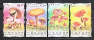 Hong Kong 2004 Sc 1121-4 Fungi MNH