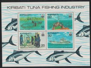 Kiribati Tuna Fishing Industry MS SG#MS162 SC#383a