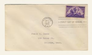 US - 1940 - Scott 898 FDC - 3c CORONADO 400th Anniversary
