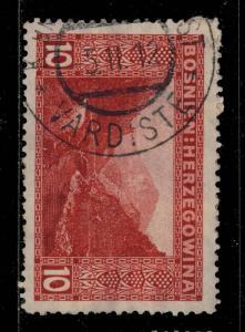 BOSNIE / BOSNIA / BOSNIEN-HERZEGOWINA 1912  VARDISTE  Type M** CDS /Mi.34