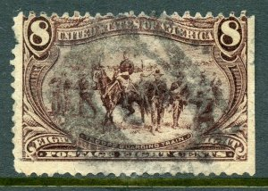 US Scott 289 Trans Mississippi Expo Used $50.00
