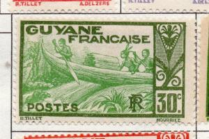 French Guiana 1929 Early Issue Fine Mint Hinged 30c. 177934