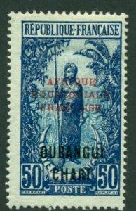 Ubangi-Shari 1924 #57 MH SCV (2018) = $0.70