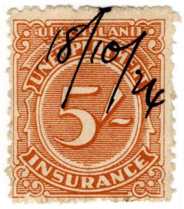 (I.B) Australia - Queensland Revenue : Unemployment Insurance 5/-