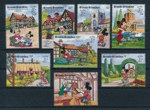 [22466] Grenada Grenadines 1990 Disney Characters in Stratford UK MNH