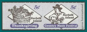 Norfolk Island 2000 Booklet Locals, MNH  694-695,SG722-SG723