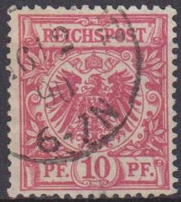 Germany #48 F-VF Used  (ST868)