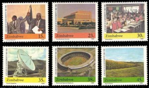 Zimbabwe 1990 Scott #600-605 Mint Never Hinged
