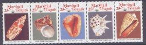 Marshall Islands 220a MNH Shells