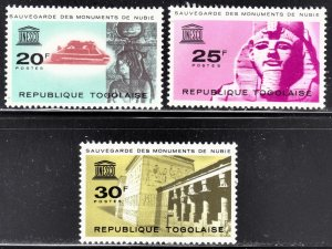 Togo Scott 476-78  F to VF mint OG H.