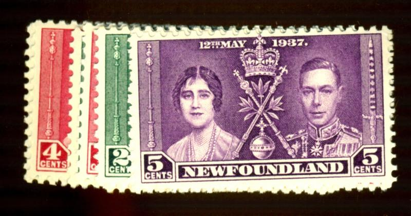 Newfoundland #230-32 (3) MINT F-VF OG NH Cat$29.50