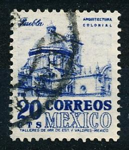 Mexico #860 Single Used