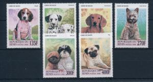 [30838] Benin 1998 Animals Dogs MNH