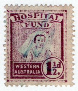 (I.B) Australia - Western Australia Revenue : Hospital Fund 1½d