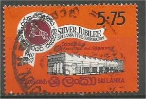 SRI LANKA, 1987 used 5.75r, Tire Corp. Scott 824