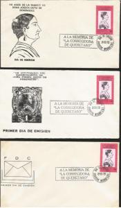L) 1979 MEXICO, THE CORREGIDORA DE QUERETARO, HISTORY, DOÑA JOSEFA ORTIZ DE DOMI