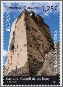H01 Andorra (Spain) 2017 Castell de les Bons MNH Postfrisch
