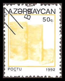 Azerbaijan 368 Used VF
