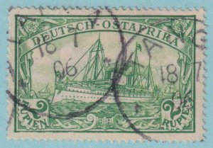 GERMAN EAST AFRICA 20  USED - NO FAULTS EXTRA FINE!
