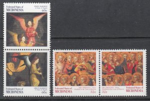 Micronesia 275-278a MNH VF