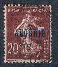 Algeria 12 Used France overprint 1924 (A0394)