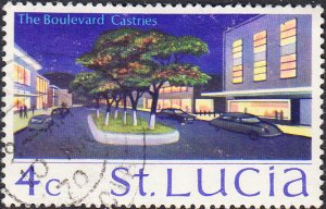 St. Lucia    #263    Used