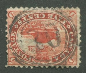 CANADA #15 USED 4-RING NUMERAL CANCEL 30