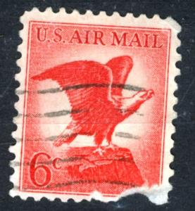 United States - SC #C67 - AIRMAIL USED FAULT - 1963 - Item USA100