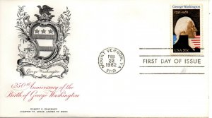 US FDC #1952 Washington, AFDCS (5431)