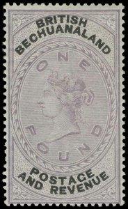 Bechuanaland Scott 21 Gibbons 20 Mint Stamp