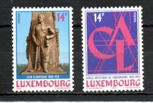 Luxembourg 902-903 MNH