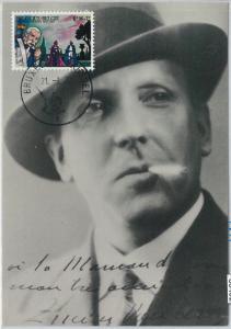 63492 -  BELGIUM - POSTAL HISTORY: MAXIMUM CARD 19767 -  ART