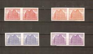 Argentina 1942 Buenos Aires post office, proofs