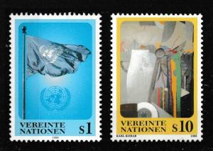 United Nations Vienna 194-195 Dauermarken S1 S10 set MNH 1996