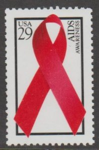 U.S. Scott #2806 Aids Awareness Ribbon Stamp - Mint NH Stamp