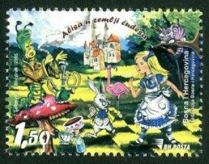 BOSNIA & HERZEGOVINA / 2015, Alice in Wonderland (Disney Cartoon), MNH
