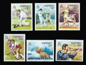 GUERNSEY 336-341 MNH