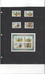 Ghana 704-08 MNH Sir Rowland Hill Centenary