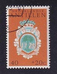 Netherlands Antilles  #B136  cancelled   1975  social welfare 40 c