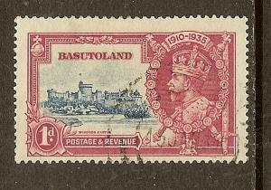 Basutoland, Scott #11, 1p Silver Jubilee Issue, Used